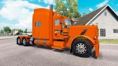 La peau YRC pour le camion Peterbilt 389 pour American Truck Simulator