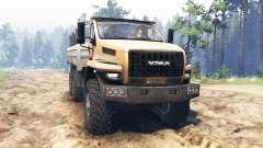 Ural-4320-6951-74 2015 [Ural Weiter] für Spin Tires