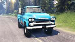 Chevrolet Apache 1959 v5.0 für Spin Tires