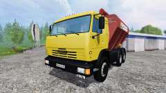 KamAZ-54115 Uploader und Seeder trailer