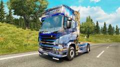Winter-skin für den Scania truck für Euro Truck Simulator 2