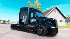 Chicano-skin für den truck Peterbilt für American Truck Simulator