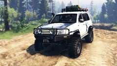 Toyota Land Cruiser 100 2000 [Samuray] v2.0 pour Spin Tires