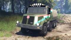 Tatra 163 Jamal 8x8 v5.0 pour Spin Tires