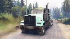 Western Star 4900 für Spin Tires