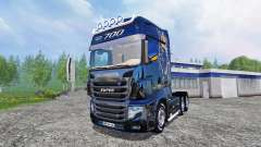 Scania R700 [blue black]