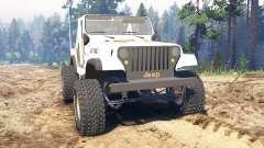 Jeep CJ-7 Renegade [Dixie] pour Spin Tires