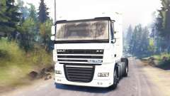 DAF XF105 pour Spin Tires