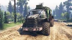 Ural-4320 [grizzly] v2.0 für Spin Tires