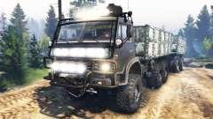 KAMAZ-4310 v3.0 für Spin Tires