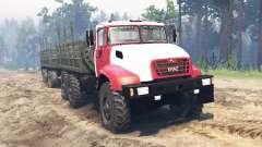 KRAZ-65032 2012 für Spin Tires