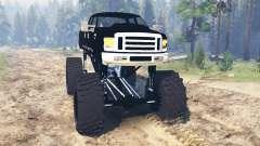Ford F-350 [black rock] für Spin Tires