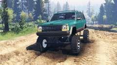 Jeep Cherokee XJ 1996 v2.0 für Spin Tires