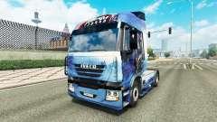 Mass Effect skin für Iveco-Zugmaschine für Euro Truck Simulator 2