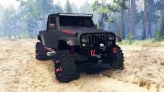 Jeep Wrangler JK8 pour Spin Tires
