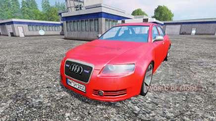 Audi A6 (C6) [feuerwehr] für Farming Simulator 2015