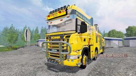 Scania R500 [tow truck] für Farming Simulator 2015