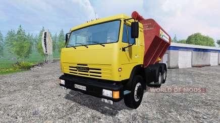 KamAZ-54115 Uploader und Seeder trailer für Farming Simulator 2015