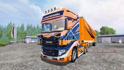 Scania R700 [toprun] für Farming Simulator 2015