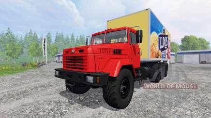 KRAZ-7140Н6 für Farming Simulator 2015
