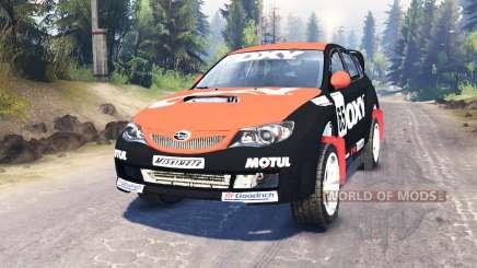 Subaru Impreza WRX für Spin Tires