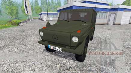 Mercedes-Benz 250 GD (W460) Wolf pour Farming Simulator 2015