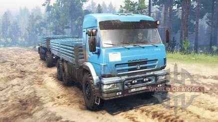 KamAZ-43118 v10.0 für Spin Tires