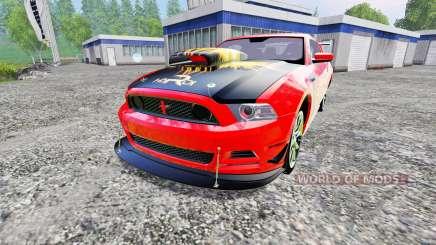 Ford Mustang Boss 302 für Farming Simulator 2015