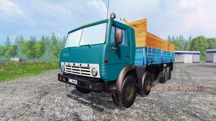 KamAZ-6530 v2.6 für Farming Simulator 2015