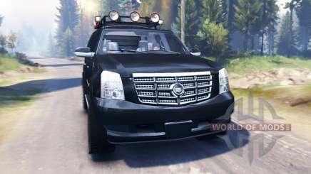 Cadillac Escalade v2.0 für Spin Tires