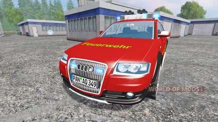 Audi A6 (C6) Avant [feuerwehr] pour Farming Simulator 2015