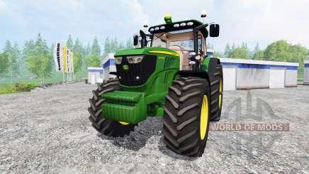 John Deere 6190R pour Farming Simulator 2015