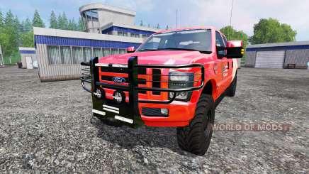 Ford F-350 American Fire Chief pour Farming Simulator 2015
