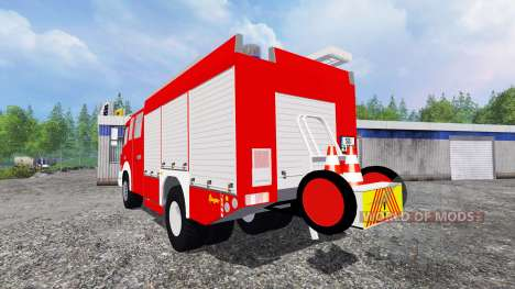Mercedes-Benz Atego 1530 [firefighters] pour Farming Simulator 2015