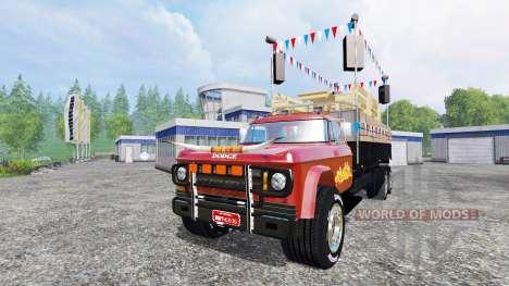 Dodge D700 [partywagen] pour Farming Simulator 2015