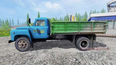 GAZ-53 [zernotrans] für Farming Simulator 2015