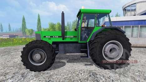 Torpedo RX 170 pour Farming Simulator 2015