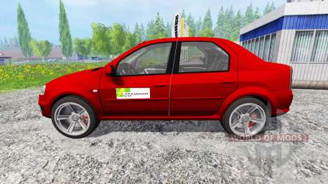 Dacia Logan v1.2 pour Farming Simulator 2015