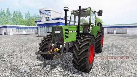 Fendt Favorit 615 LSA pour Farming Simulator 2015
