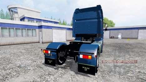 MAN F2000 19.603 FLS v1.4 für Farming Simulator 2015