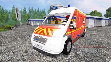 Peugeot Boxer [VSAV] für Farming Simulator 2015