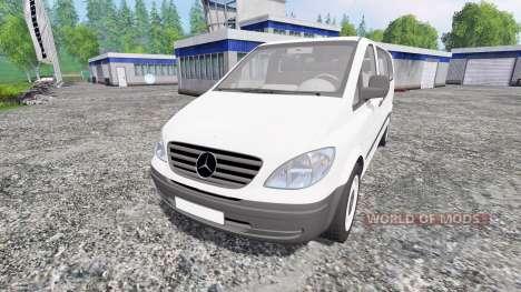 Mercedes-Benz Viano 2005 pour Farming Simulator 2015