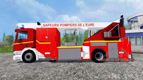 Scania P420 BEA [sapeurs-pompiers] für Farming Simulator 2015