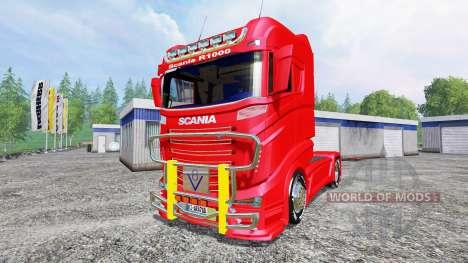 Scania R1000 für Farming Simulator 2015