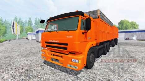KamAZ-65117 pour Farming Simulator 2015