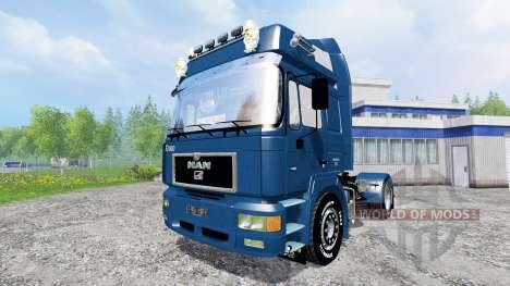 MAN F2000 19.603 FLS v1.3 für Farming Simulator 2015