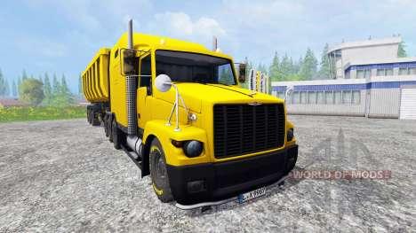 GAZ de Titane v4.0 pour Farming Simulator 2015
