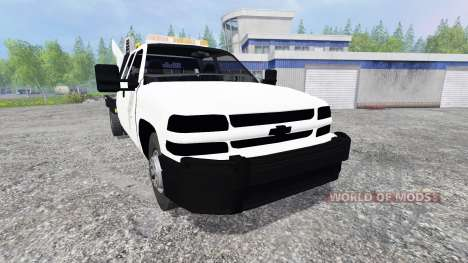 Chevrolet Silverado Flatbed pour Farming Simulator 2015