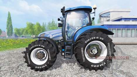 New Holland T6.160 [blue power] v1.1 für Farming Simulator 2015