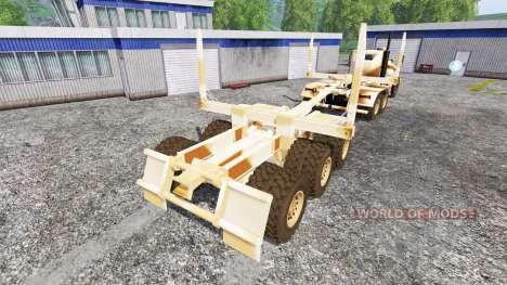 Hayes HDX [desert camo] pour Farming Simulator 2015